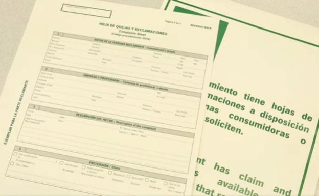 Nuevas hojas de quejas y reclamaciones – Junta de Andalucía
